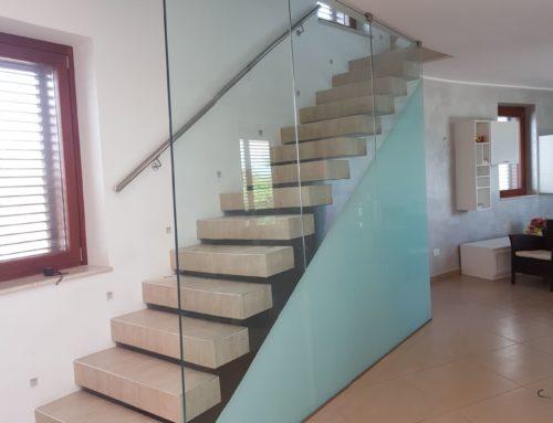 Separatore vetro scale